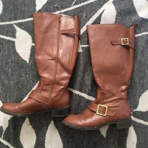 • LifeStride • Brown Wide Calf Boots